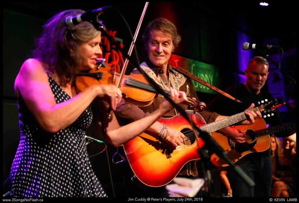 Jim Cuddy and band playing at Peter's Players