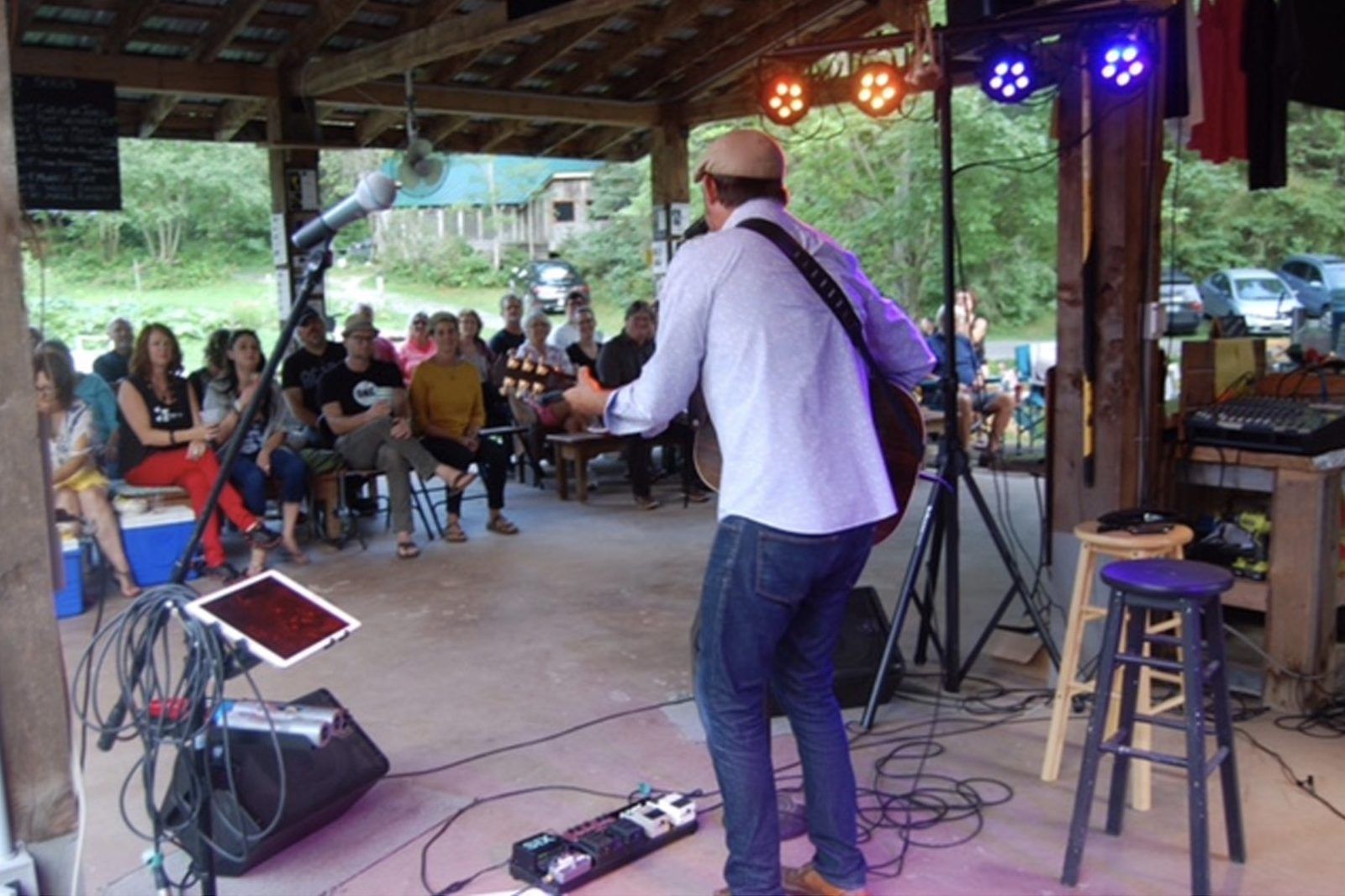 Etwell concert series performers on stage