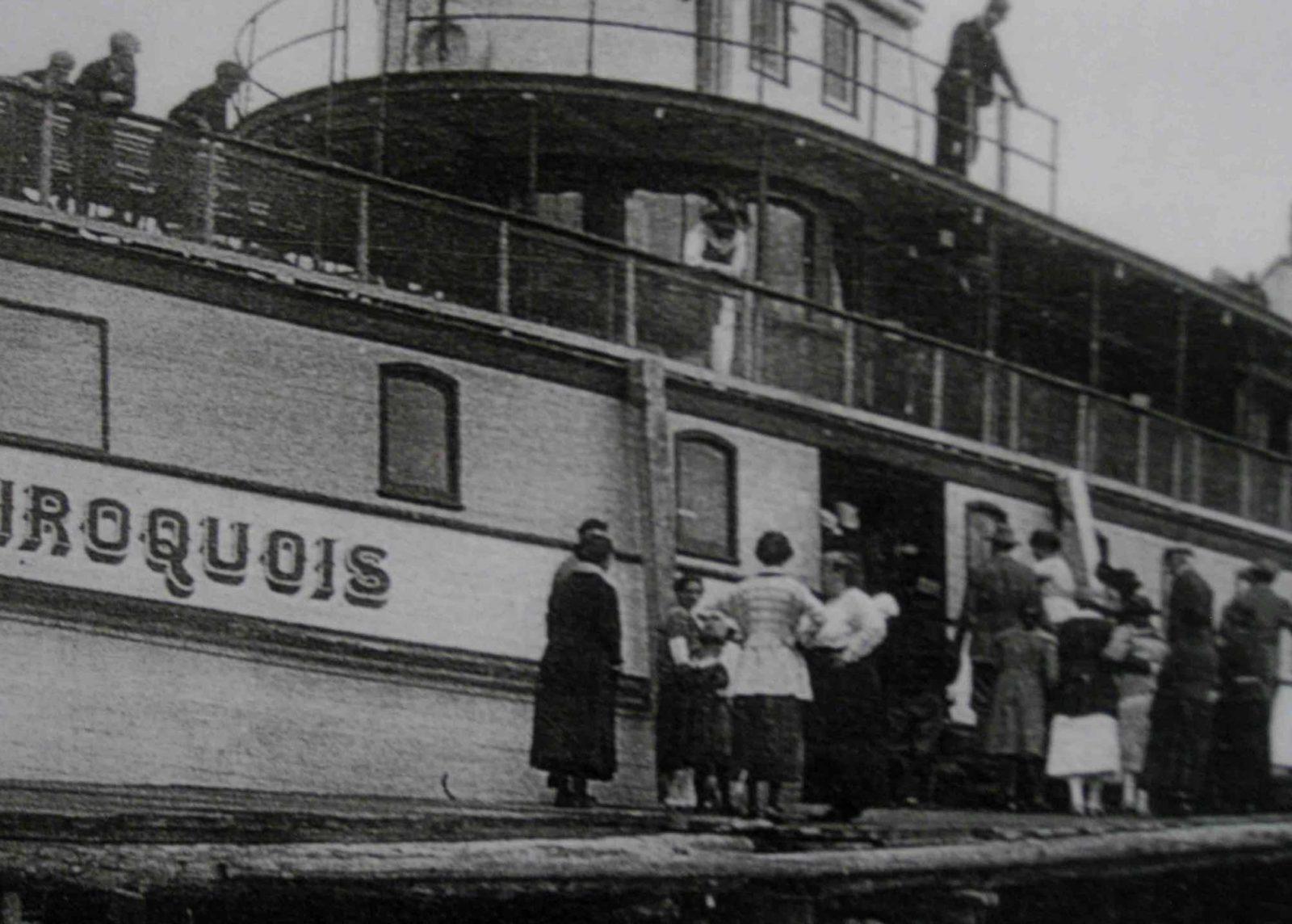 Historic Iriqois photo from the Dorset Heritage Museum