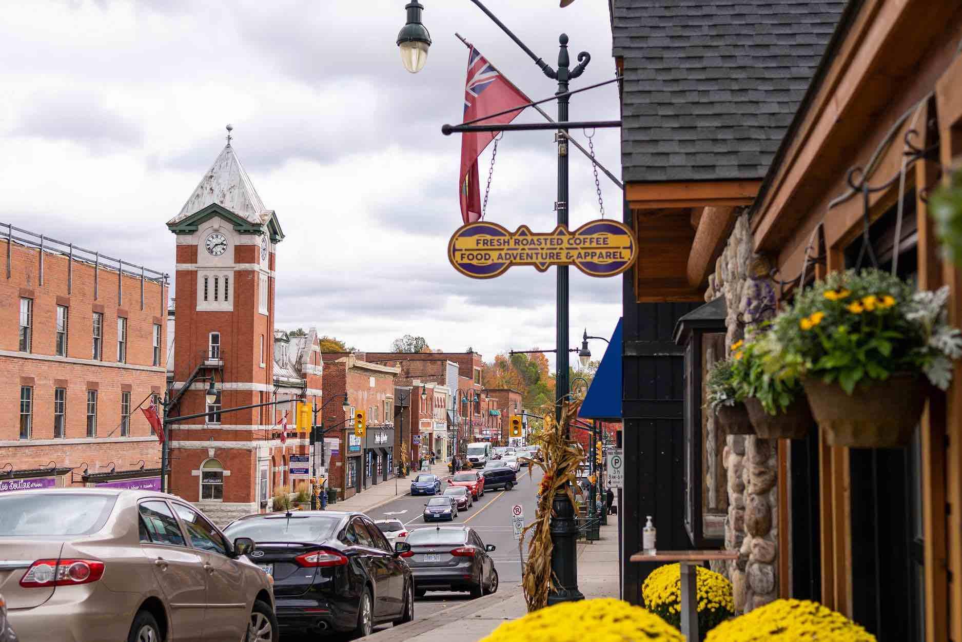 Town of Bracebridge Manitoba Street